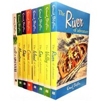 Enid Blyton 8-Book Adventure Series