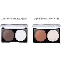 Image of 40 Colour Professional Eyeshadow Palette 2 Colours