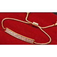 Image of 18K Gold Plated Elephant Charm Anklet