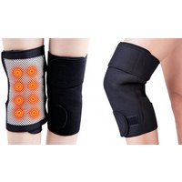 Self-Heating Magnetic Knee Support Brace