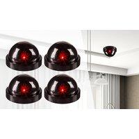 4 x Fake CCTV Home Security Cameras