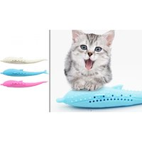 Silicone Cat Tooth Cleaning Toy - 3 Colours