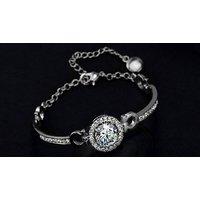 Image of Crystal Pendant Bracelet