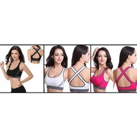Image of Shock Absorbing Fast Dry Sports Bra 6 Colours