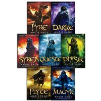 Septimus Heap 7-Book Wizard Apprentice Series by Angie Sage