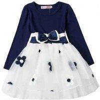 Image of Children's Polka Dot Ball Gown Dresses 6 Sizes, 2 Colours