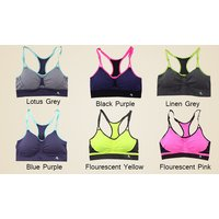 Image of Women's Seamless Sports Crop Top 3 Colours