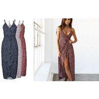 Long Floral Summer Dress – 3 Colours & 3 Sizes