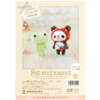 Hamanaka Felt Wool Craft Kit- Frog and Panda