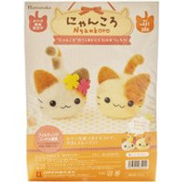Hamanaka Felt Wool Craft Kit - Kitten Friends