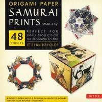 Samurai Prints Origami Paper, Small