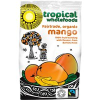 Tropical Wholefoods Organic Fairtrade Mango - 100g