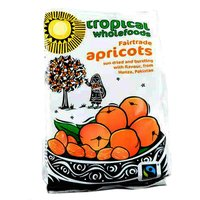 Tropical Wholefoods Fairtrade Apricots - 125g.
