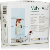 Naty Eco Disposable Nappies - Junior - Size 4+ - Pack of 25