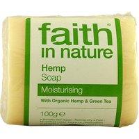 Faith in Nature Hemp with Lemongrass & Green Tea Soap - 100g