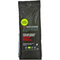 Equal Exchange Italian Roast Coffee Whole Beans - 1Kg