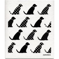 Jangneus Design Cloths - Black - Pack of 4