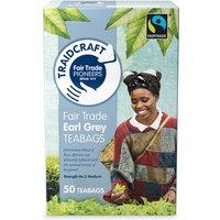 Traidcraft Fairtrade Earl Grey Teabags 50 Bags