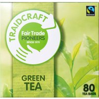 Traidcraft Fair Trade Green Teabags 80 Bags