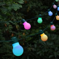 Solar Colour Changing Party Lights 20 LEDS