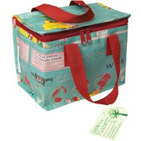 Recycled Lunch Bag World Map