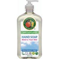Earth Friendly Liquid Hand Soap Fragrance Free - 500ml