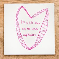 Arthouse Meath Charity Its a Bit Late But its From My Heart Card