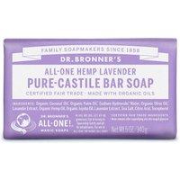 Dr Bronner Organic Lavender Soap Bar - 140g
