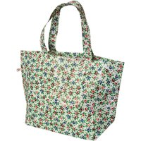Recycled Rambling Rose Large Shopping Bag