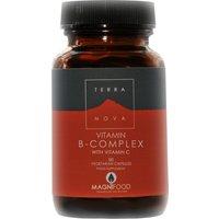 Terranova Vitamin B-Complex w/Vitamin C - 50caps.