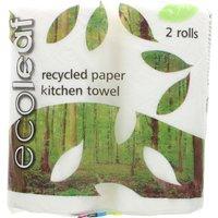 Ecoleaf Ultra Kitchen Rolls - Pack of 2