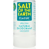 Salt of The Earth Crystal Spring Natural Deodorant - 90g.