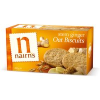 Nairns Stem Ginger Biscuits - Wheat Free - 200g