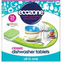 Ecozone Dishwasher Tablets Classic - Pack of 25