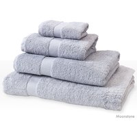 Natural Collection Organic Cotton Guest Towel - Moonstone