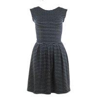 Nancy Dee Lana Stripes Prom Dress