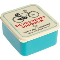 Bicycle Riders Luncheon Square Lunch Box