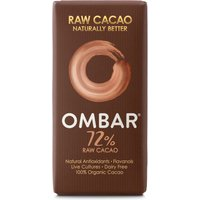 Ombar Raw Chocolate 72% Raw Cacao - 35g