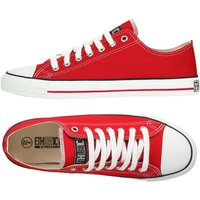 Ethletic Fairtrade Trainers - Red.