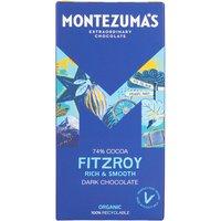 Montezuma's Fitzroy Organic 74% Dark Chocolate - 90g.