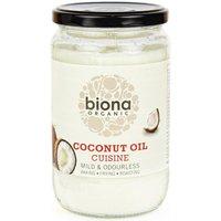 Biona Organic Coconut Oil Cuisine - Mild/Odourless - 610ml