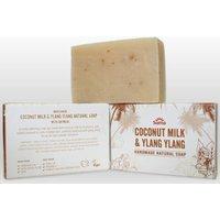 Suma Handmade Natural Soap - Coconut Milk & Ylang Ylang - 95g