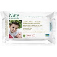 Naty Unscented Sensitive Wipes - Pack Of 56