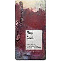 Vivani Organic Milk Chocolate & Praline Filling - 100g at Natural Collection