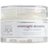 Organic Surge Overnight Sensation Night Cream Moisturiser - 50ml