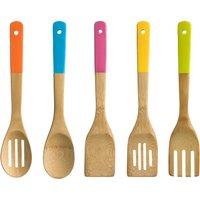 5pc Bamboo Kitchen Utensil Set