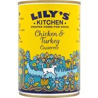 Lilys Kitchen Organic Chicken Casserole For Dogs - 400g