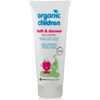 Green People Childrens Bath & Shower Gel - Berry Smoothie - 200ml