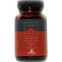 Terranova Vegan Garlic Supplement 500mg - 50 Capsules