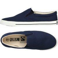 Ethletic Fairtrade Deck Shoes - Ocean Blue